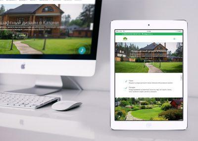 Создание сайта для компании «GreenKZN»