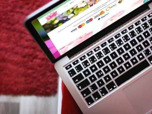 Создание интернет-магазина цветов Flower16.ru